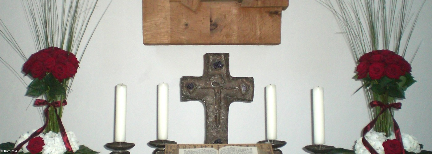 Trauung Altar Christuskirche Bad Neustadt