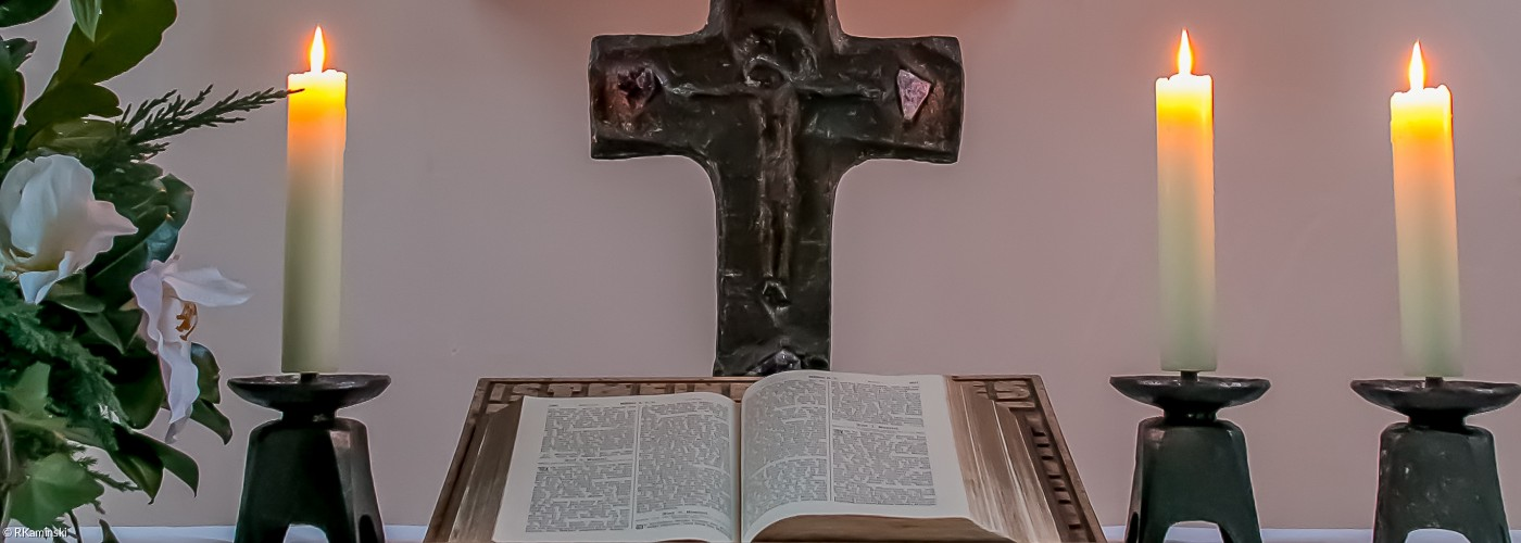 Bestattung - Altar Christuskirche Bad Neustadt
