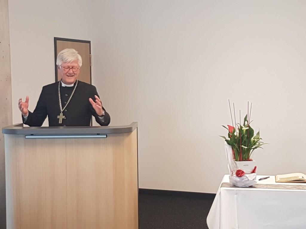 Landesbischof zum Thema Heimat (c) MKam