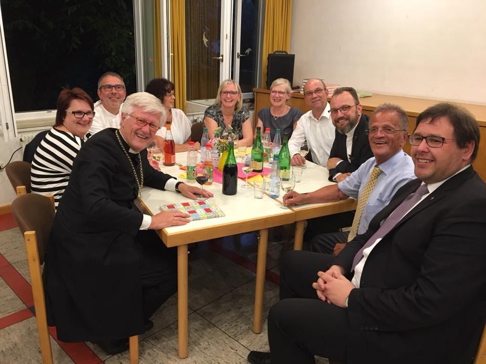 Gespräche mit kirchlichen Mitarbeitenden (c) Landesbischof