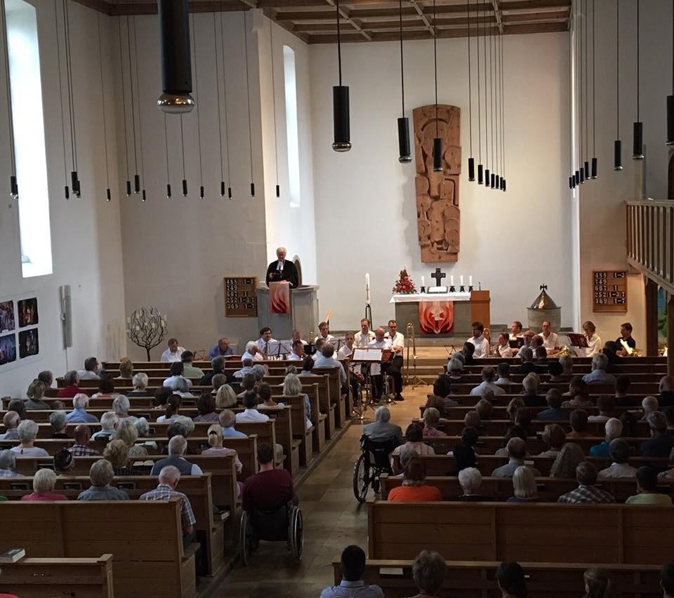 Gottesdienst in der Christuskirche in Bad Neustadt (c) Landesbischof