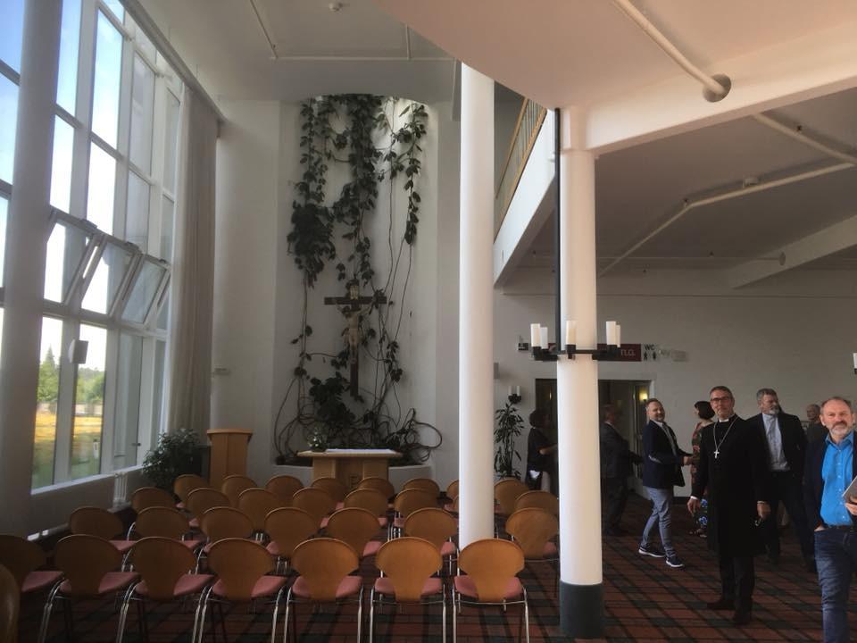 Gottesdienstraum in der Neurologischen Klinik